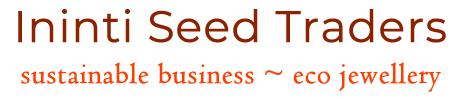Ininti & Quandong Seeds - Kurrajong Pods